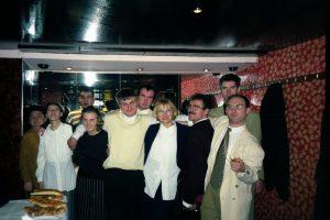 Predsjednica Šemsa Mustačević sa korisnicima