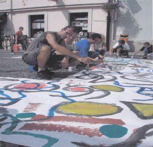 2005 Likovni perfomans na Špancirfestu
