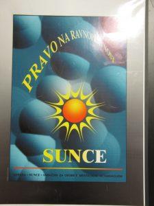 Plakat udruge Sunce Varaždin