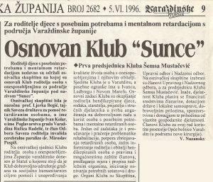 web 1996-press osnivanje prvog županijskog kluba