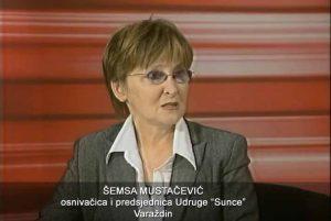 """osnivačica i predsjednica Udruge """"Sunce"""" Varaždin"""