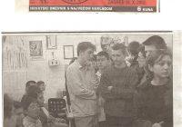 2002.26.10. Učenici Gospodarske škole gosti u klubu Sunce