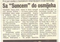2003.09.04. Nastup dramske skupine u Zagrebu na INKAZ-u