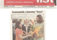 2003.13.08. Gradonačelnik I. Čehok sa članovima Kluba