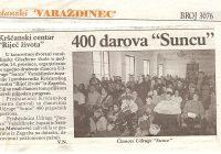 2003.14.12. Krščanski centar darivao 400 poklona Suncu