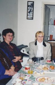 predsjednica Š. Mustačević i dopredsjednica Nada Liber