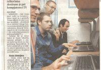 2007.13.10. Večernjak donirao 5 računala i TV klubu Sunce
